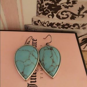 Lucky brand turquoise earrings ❤️